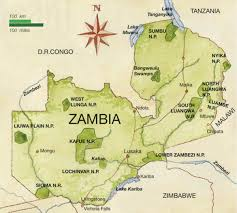 Zambia Map Northern Circuit Zambia U2022 Camping Lodging12 Days 11 Nights 4