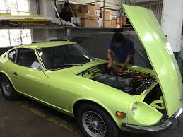 vintage datsun cars featured in bring a trailer classic car restoration san