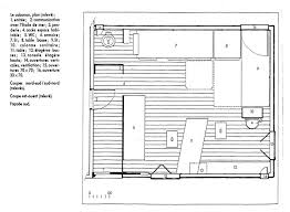 Sustainable House Design Floor Plans by Sustainable Small House Design Le Corbusier U0027s Cabanon 1952 A 1