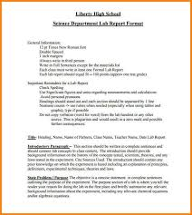 word lab report template 10 formal lab report template resumed