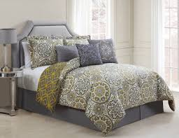 Light Grey Bedspread by Yellow Grey Bedding Medium Size Of Bedroomgrey Yellow Bedspread
