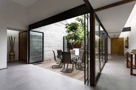 Courtyards by Gallery Of Two Courtyards House Muñoz Arquitectos 7