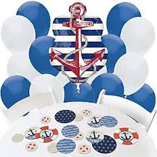 sailor baby shower decorations ahoy nautical baby shower decorations theme babyshowerstuff
