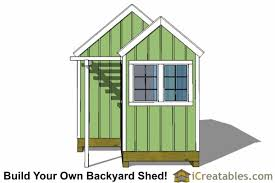 Making Your Own Shed Plans by 10x8 6x8 Garden Shed Plans