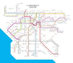 La Subway Map Los Angeles Public Transport Page 105 Skyscrapercity