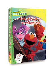 travel songs images Sesame street elmo 39 s travel songs and games kevin jpg