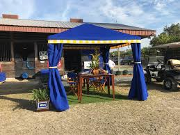 Outdoor Gazebo With Curtains by Absolutely Custom Canopy And Patio Shade Structures
