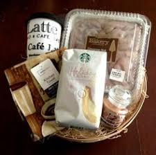treat yourself a coffee gift basket coffee lover