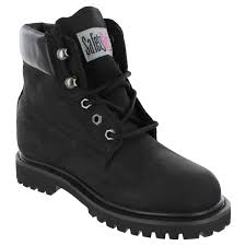 safety ii steel toe work boots black