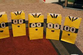 minion gift bags minion party gift bags loving you out loud