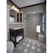 Wholesale Mosaic Tile Crystal Glass Backsplash Washroom Design - Shower backsplash