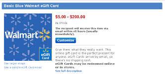 sending gift cards online walmart online gift card