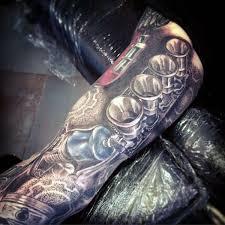 best 25 mechanical sleeve tattoo ideas on pinterest