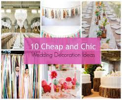 cheap wedding decor new ideas cheap wedding decor with tips for wedding decorations