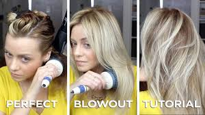 diy salon quality blowout on long hair in just 15 minutes how to