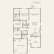 Floor Plan Manual Housing by Compton At Berkshire Forest In Myrtle Beach South Carolina Pulte