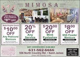 mimosa nail u0026 spa smithtown moms