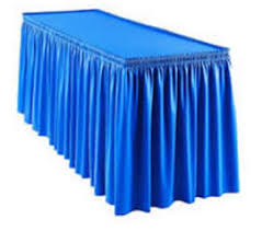 table skirts camelback displays