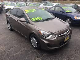 2013 hyundai accent gs 2013 hyundai accent gls 4dr sedan in milwaukee wi gs auto sales inc