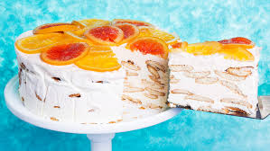 creamsicle inspired icebox cake recipe tasting table
