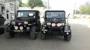 modified jeep 2017 black modified jeeps 2017 rs 450000 unit krunal motors id