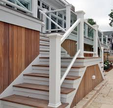 Outdoor Banisters And Railings Staircase Glass Company Glass Staircases In Ma