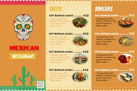 indian menu template mexican food menu templates with photo placeholders postermywall