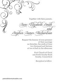 free blue and silver wedding invitation templates black white
