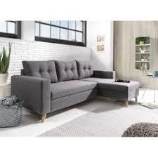 shoing canapé lena canapé scandinave d angle gauche gris clair 236x90x203cm