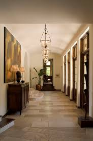Hall Credenza Foyer Lighting Fixtures Hall Traditional With Arched Doorway Art