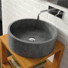 black stone bathroom sink vesel sink unbelievable stone bathroom room indpirations