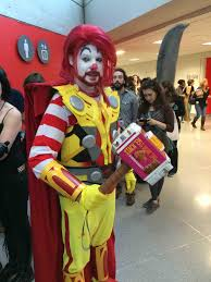 mcdonalds costumes for halloween ronald mcthor cosplay at new york comic con http www omglmaowtf