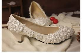 wedding shoes no heel online shop 2018 fashion ivory lace wedding shoes for bridals high