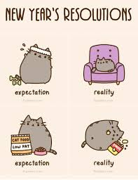 New Year Meme - new year s resolutions pusheen know your meme