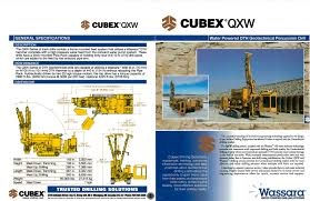 cubex drilling division overview product book cubex pdf
