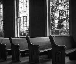 the old familiar feeling of church pews church pews church