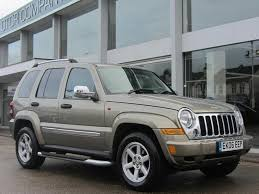 gold jeep cherokee used gold jeep cherokee 2006 diesel 2 8 crd limited 5dr 4x4 in great