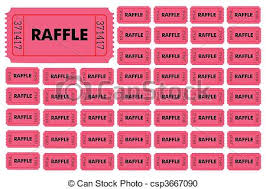 raffle ticket printing paper raffle tickets illustration of different numbered raffle