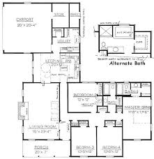 pretentious 7 mother in law suite house plans with attached