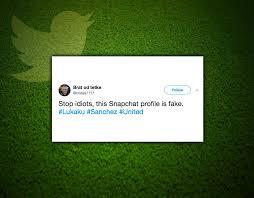 alexis sanchez snapchat man utd fans rage at each other as lukaku confirms sanchez