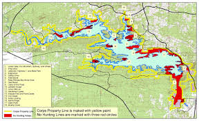 Property Lines Map Degray Lake