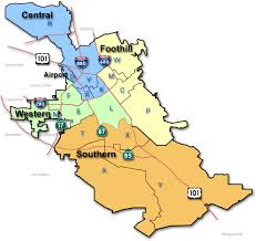 san jose district map bureau of field operations