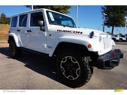 jeep sahara 2016 white bright white 2016 jeep wrangler unlimited rubicon hard rock 4x4
