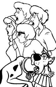 30 free printable scooby doo coloring pages scooby