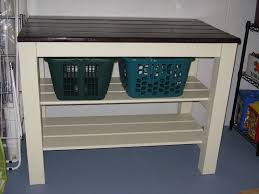 Laundry Bench Height Articles With Laundry Room Folding Table Height Tag Laundry Room