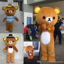 2017 new janpan rilakkuma bear mascot costumes size bear