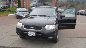 ford crossover black 2004 ford escape black stock 14 1402a youtube