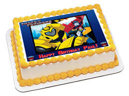 transformers cake toppers image topper your photo frame frosting transformers edible cake toppers transformers edible cupcake