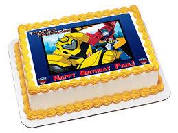 transformer cake topper transformers edible cake toppers transformers edible cupcake