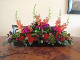 28 dining room table floral arrangements handmade silk